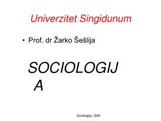 Univerzitet Singidunum
