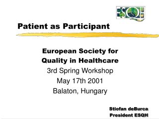 Patient as Participant