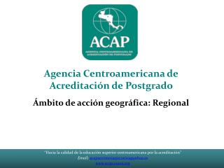 """""""Hacia la calidad de la educación superior centroamericana por la acreditación"""""""