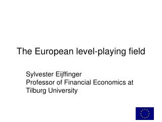 The European level-playing field