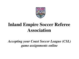 Inland Empire Soccer Referee Association