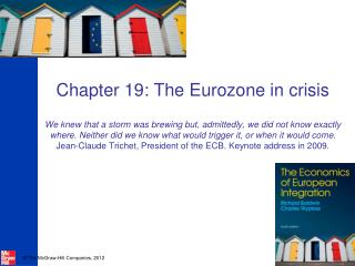 Stage one: the global financial crisis