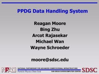 PPDG Data Handling System