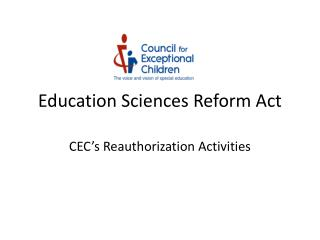 Education Sciences Reform Act