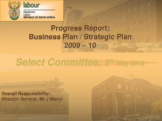 Select Committee:  5 th May 2010