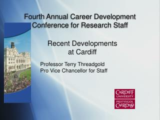Fourth Annual Career Development Conference for Research Staff