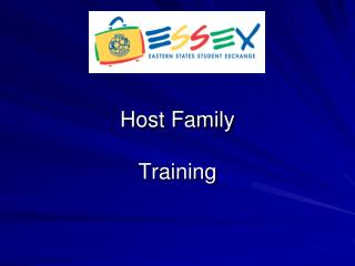 Host Family Training