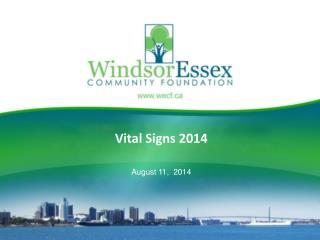 Vital Signs 2014