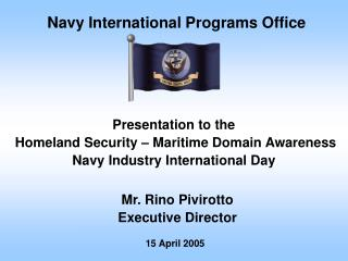 Navy International Programs Office