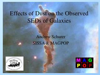 Effects of Dust on the Observed SEDs of Galaxies