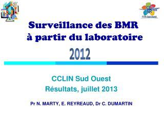 Surveillance des BMR  à partir du laboratoire