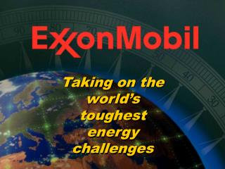 Taking on the world's toughest energy challenges