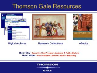 Thomson Gale Resources