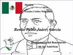 Benito Pablo Ju rez Garc a