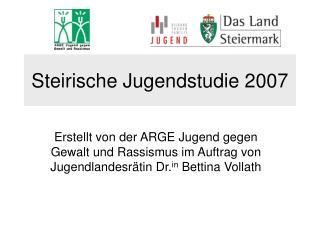 Steirische Jugendstudie 2007