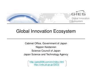 Global Innovation Ecosystem