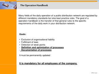 The Operation Handbook