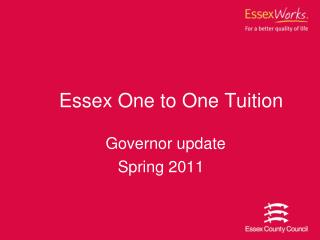 Essex One to One Tuition