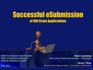 Successful eSubmission of NIH Grant Applications