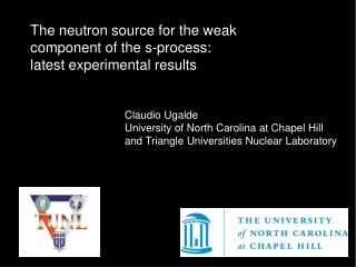 The neutron source for the weak component of the s-process: latest experimental results