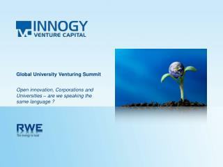 Global University Venturing Summit