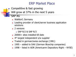 ERP Market Place