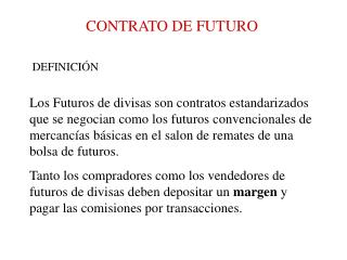 CONTRATO DE FUTURO