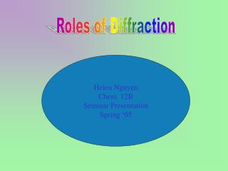 Roles of Diffraction