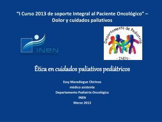 Ética en cuidados paliativos pediátricos
