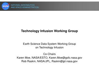 Technology Infusion Working Group