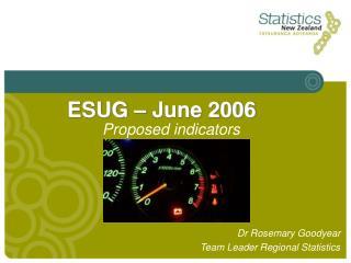 ESUG – June 2006