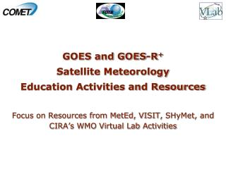 GOES and GOES-R + Satellite Meteorology  Education Activities and Resources
