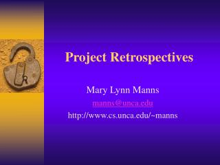 Project Retrospectives