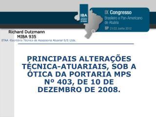 Richard  Dutzmann MIBA 935