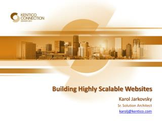 Building Highly Scalable Websites
