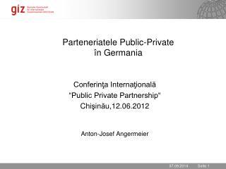 Parteneriatele Public - Private în Germania