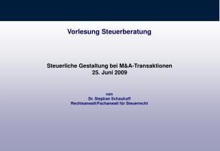 Vorlesungsbegleitende Literatur Birk,   6 D 3a;       7 B III. 3b; Tipke