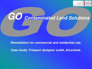 GO  Contaminated Land Solutions