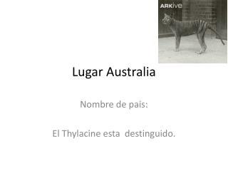 Lugar Australia