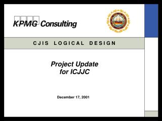 Project Update for ICJJC