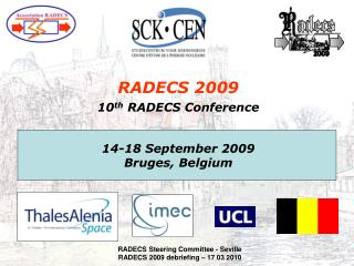 RADECS 2009 10 th  RADECS Conference