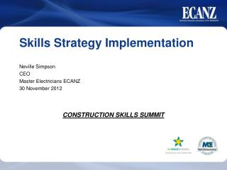 Skills Strategy Implementation