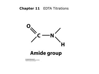 Chapter 11    EDTA Titrations