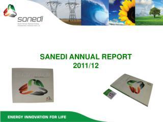 SANEDI ANNUAL REPORT  2011/12