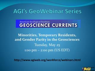 AGI's  GeoWebinar  Series