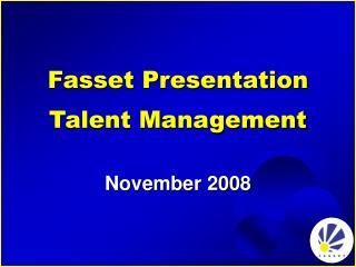 Fasset Presentation Talent Management
