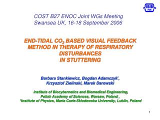 END-TIDAL CO 2  BASED VISUAL FEEDBACK METHOD IN THERAPY OF RESPIRATORY DISTURBANCES IN STUTTERING