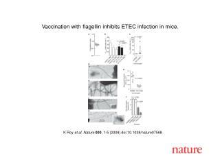 K Roy  et al. Nature 000 , 1-5 (2008) doi:10.1038/nature07 568
