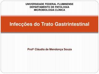 Infecções do Trato Gastrintestinal