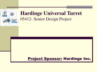 Hardinge Universal Turret 05412- Senior Design Project